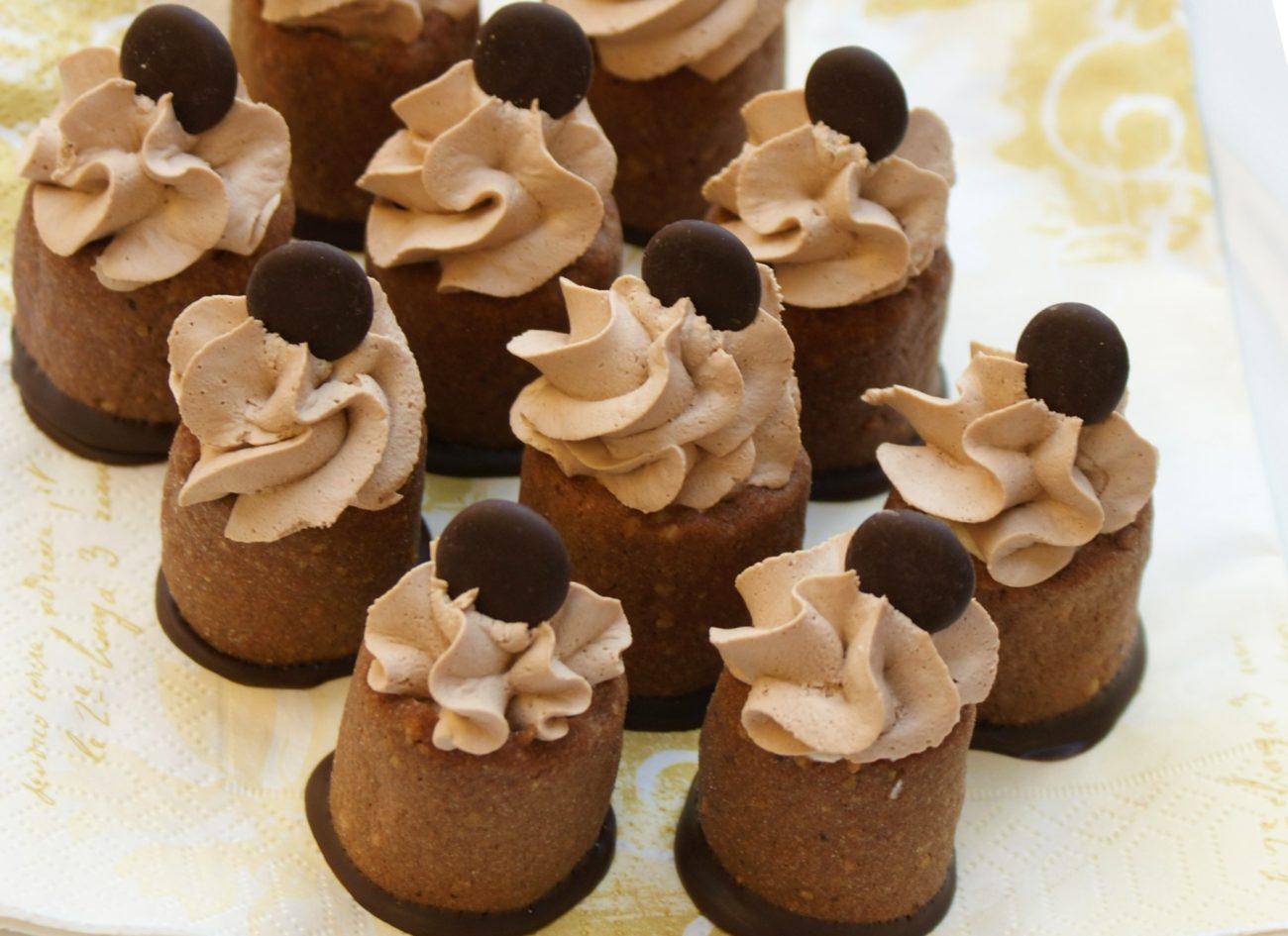 Čokoládové věžičky